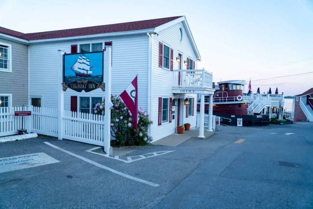 Tugboat Inn in Boothbay Harbor maine