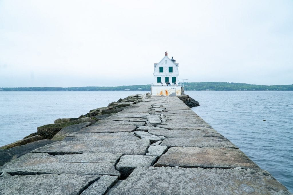 Rockland breakwater and lighthouse