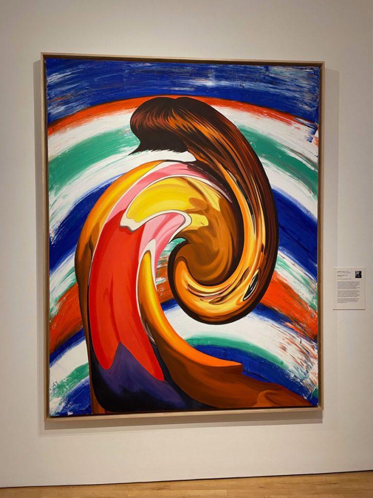 Painting in Farnsworth Art Museum