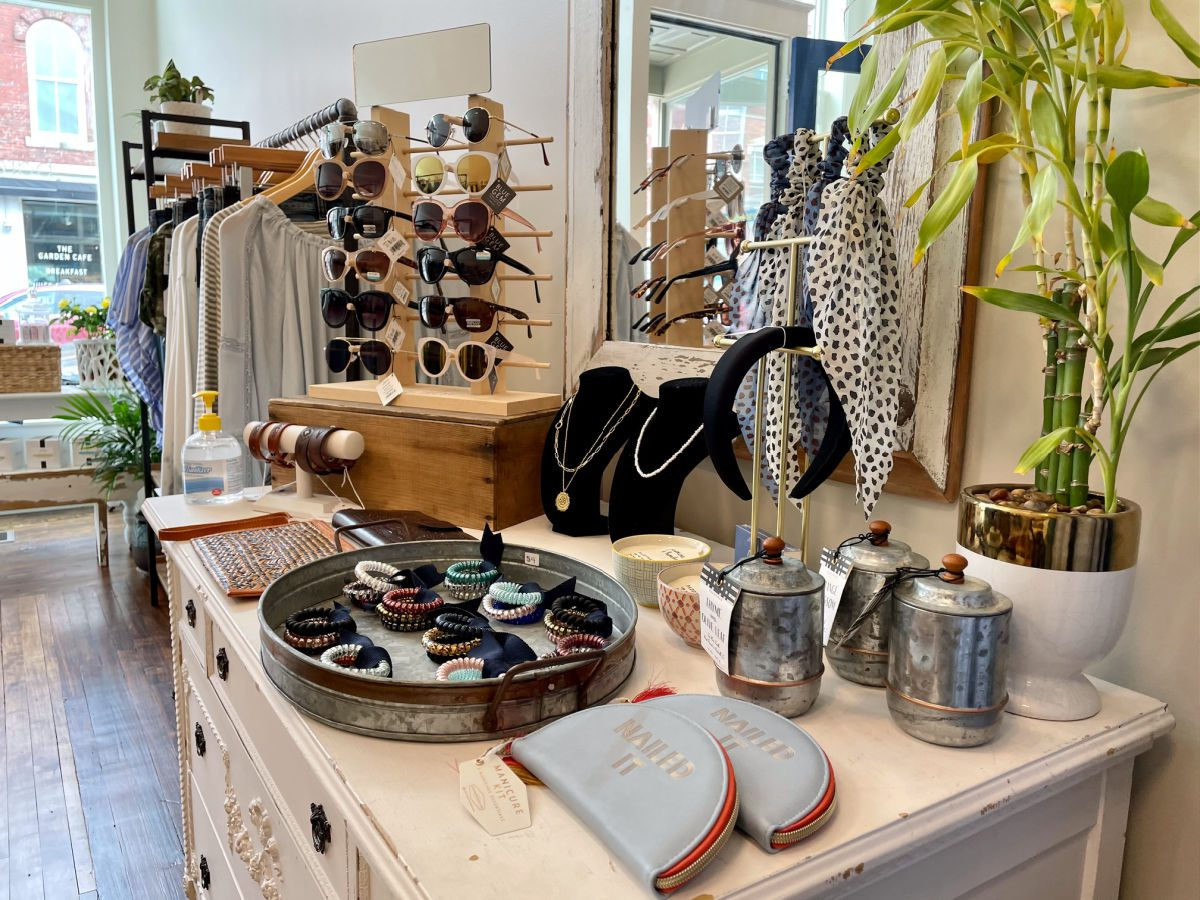 Barefoot in Denim boutique in Rockland