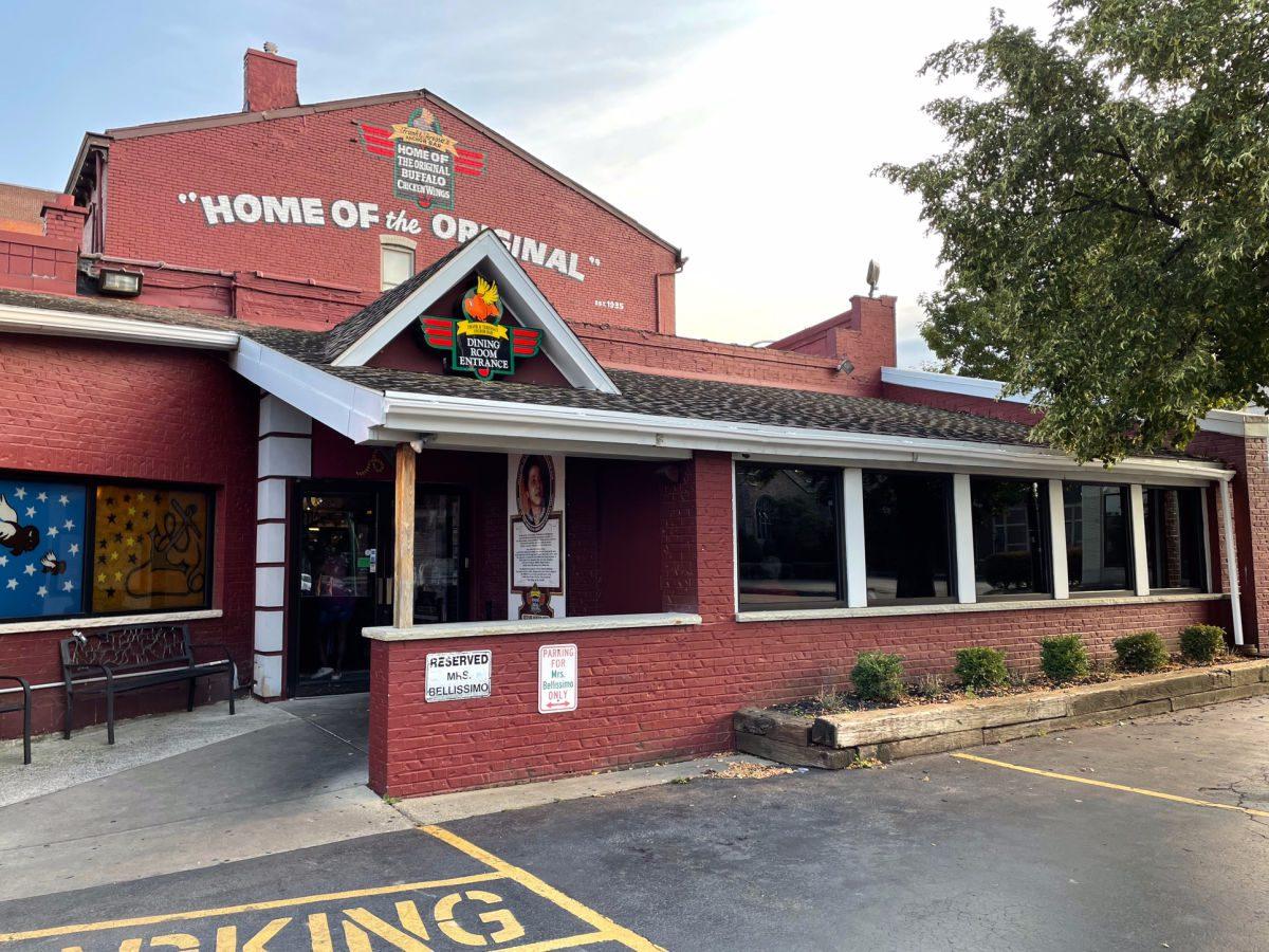 Anchor Bar in Buffalo, home of the Original Buffalo Wing