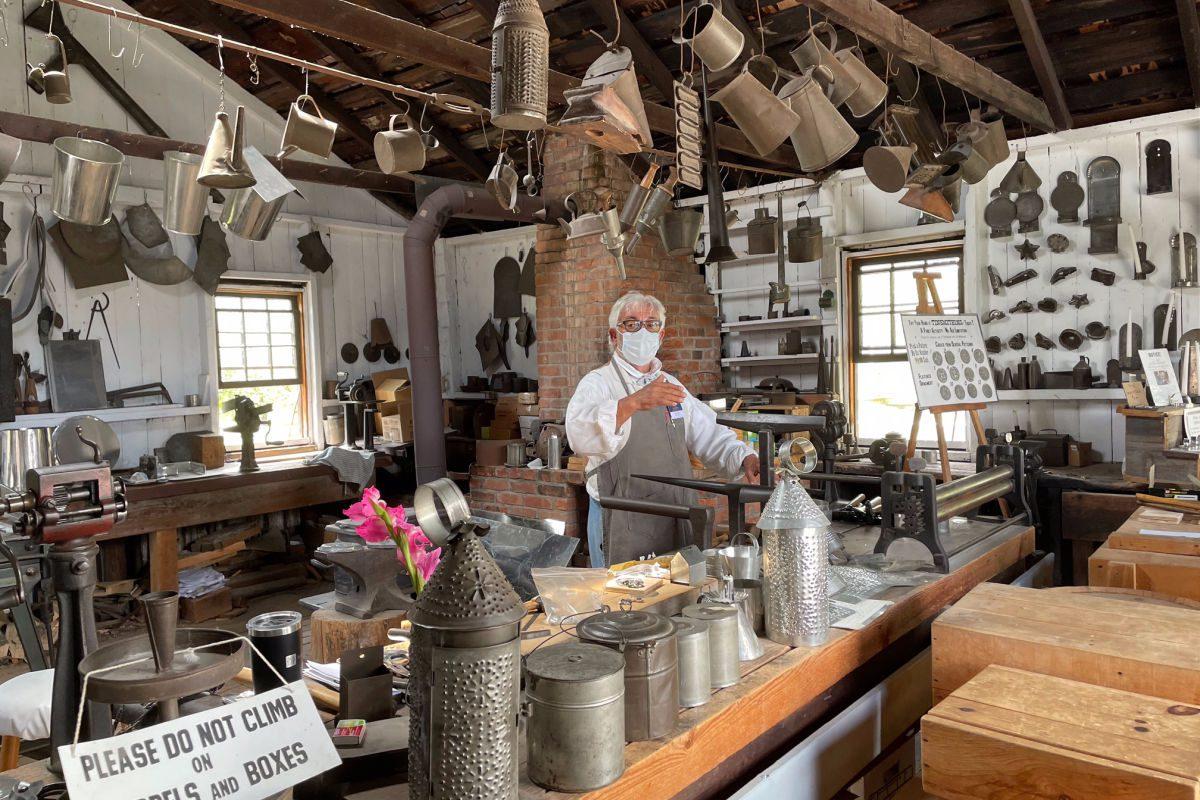Genesee Country Village Museum tinshop