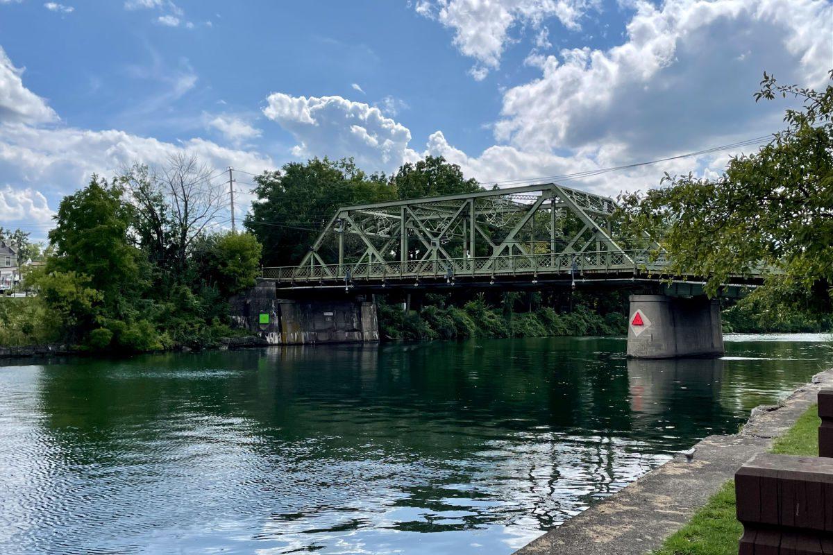 It's a Wonderful Life Bridge in Seneca Falls New York