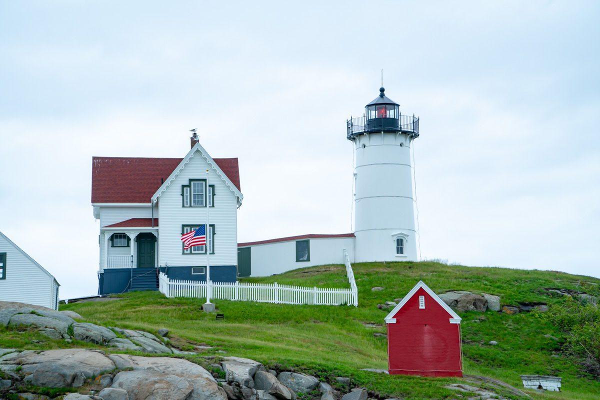 Nubble Lighthouse in Cape Neddick Maine