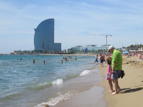 Barceloneta | 4 days in Barcelona with Kids via We3Travel