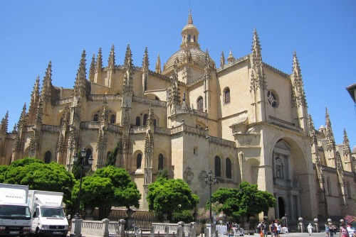 Cathedral in Segovia | Sightseeing in Segovia via We3Travel