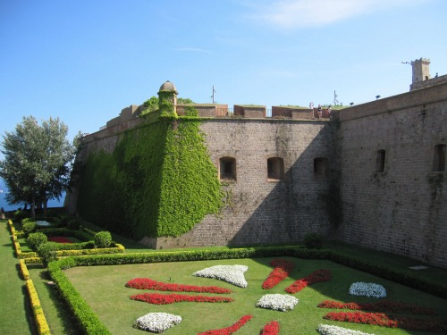 Gardens of Castle Montjuic | 4 days in Barcelona with Kids via We3Travel