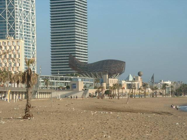 Barceloneta via 4 days in Barcelona with Kids via We3Travel