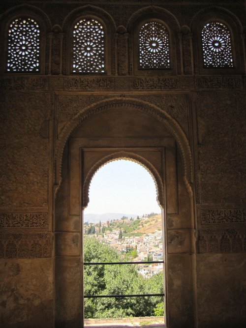 View of Granada | Visiting the Alhambra with Kids via We3Travel