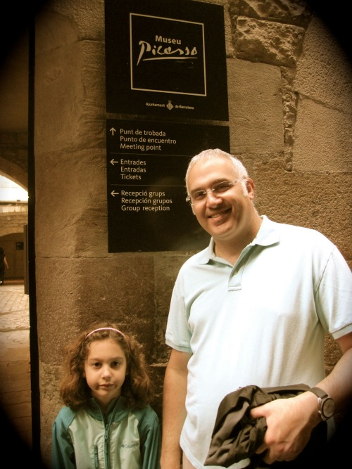 Picasso Museum | 4 days in Barcelona with Children via We3Travel