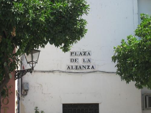 Plaza de la Alianza   What to do in Seville with kids via We3Travel