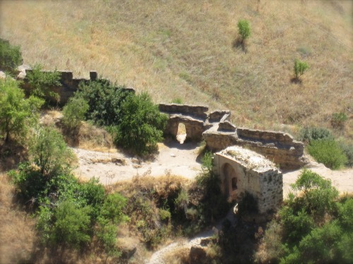 Ruins in the Gorge   24 hours in Ronda with Kids via We3Travel