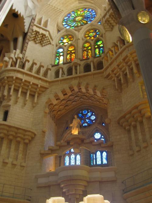 Inside Sagrada Familia | 4 days in Barcelona via We3travel