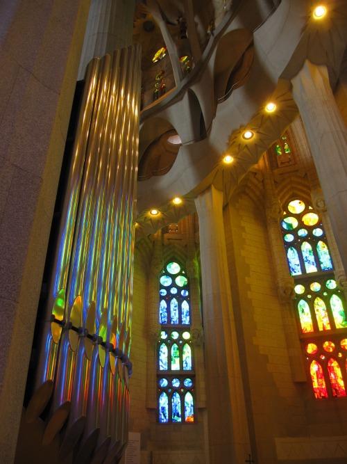 Organ in Sagrada Familia | 4 days in Barcelona