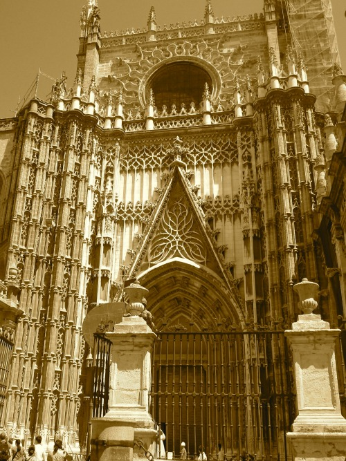 Sevilla Cathedral   What to do in Seville with Kids via We3Travel