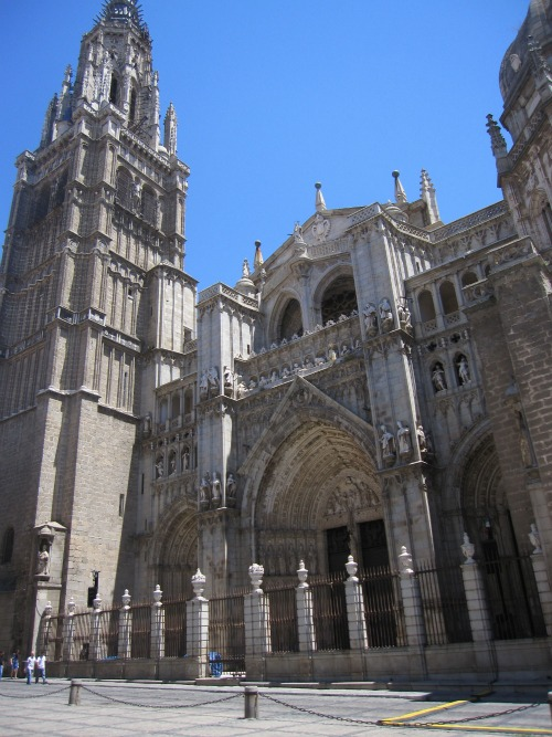 Toledo Cathedral | Taking the Train to Toledo Spain via We3Travel