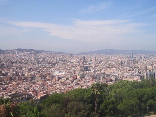 View of Montjuic | 4 days in Barcelona part 3