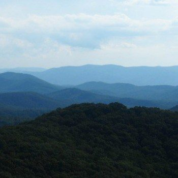 Driving the Skyline Drive