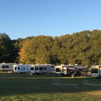 Campground living at the Mystic KOA