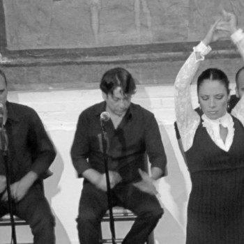 Flamenco dancers in Barcelona Spain