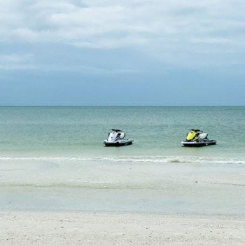 wave runners in the water - things to do in Marco Island