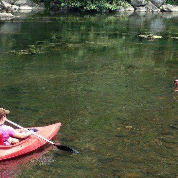Kayaking on the Shenandoah
