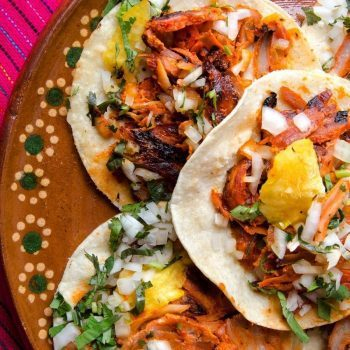 Tacos on a platter Canva