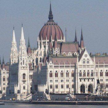 Budapest Walking Tour Parliament building