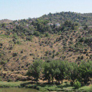 Hills outside Toledo Spain