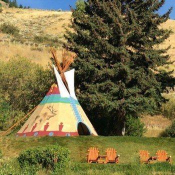 Rustic Inn Jackson Wyoming