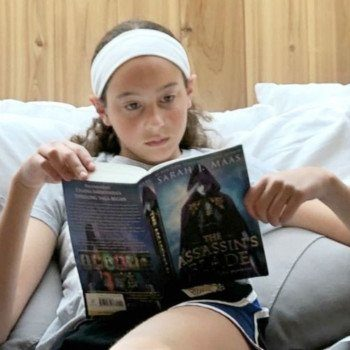 Hannah reading - gifts for bookworms