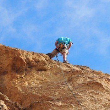 Rock climbing in Smith Rock State Park