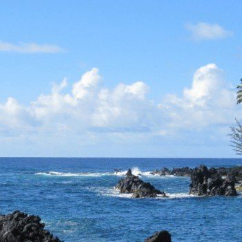 Keanae Peninsula on Drive to Hana Maui Hawaii