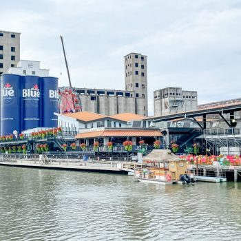 Buffalo Riverworks from the water