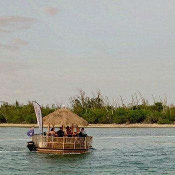 Tiki boats in Key West