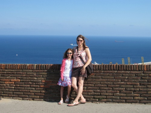 Harbor view from Castle Montjuic | 4 days in Barcelona with Kids via We3Travel