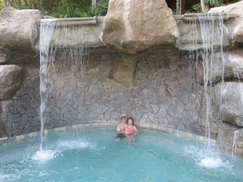 Grotto spa at Four Seasons Costa Rica