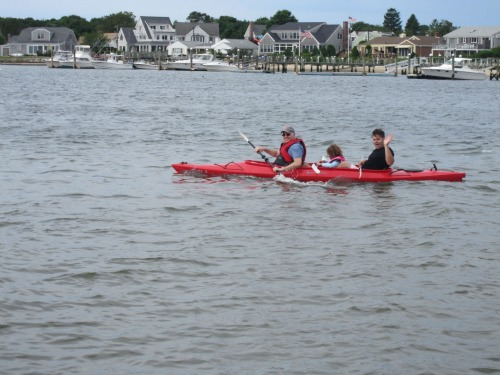 Kayaking in Hyannis harbor from Favorite Cape Cod Memories from We3Travel.com